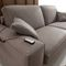 sofa bed / contemporary / velvet / leather