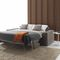 Sofa bed / contemporary / velvet / leather ELEVEN : AUTOMATIC SOFA BED Divani Santambrogio
