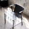 contemporary chair / with armrests / ash / bentwood