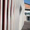 Fiber-reinforced concrete cladding / 3D / panel FIBRE C : 3D FINS Rieder Smart Elements GmbH