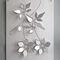 aluminum decorative panel / steel / wall-mounted / 3D