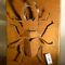 Metal decorative panel / wall-mounted STAG BEETLE Logical Space design