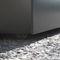 Fiber cement planter / square / custom / wheeled INDOOR/OUTDOOR - IPP 40H70, ICM 48H45 - IMAGE'IN ATELIER SO GREEN
