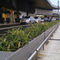 aluminum planter / rectangular / custom / contemporary