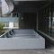 steel planter / custom / modular / for public spaces