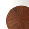 contemporary side table / mahogany / rosewood / palisander