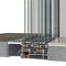 Glass sliding door system SUPREME S650 PHOS ALUMIL S.A.