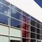 Structural glass curtain wall / aluminum and glass M50  ALUMIL S.A.