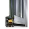 Aluminum window profile / thermally-insulated S77 PHOS ALUMIL S.A.