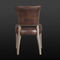Traditional chair / upholstered / leather SED-ROM Arteinmotion
