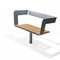 Public bench / contemporary / wooden / with backrest SOFA SPIN HAGS Aneby AB