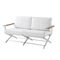 Contemporary sofa / garden / acrylic / synthetic leather OSKAR by Eric Carrère SIFAS