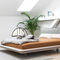 double bed / contemporary / with upholstered headboard / fabricYOMA by KaschkaschZEITRAUM