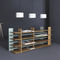 contemporary shelf / solid wood