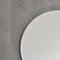 wall-mounted mirror / LED-illuminated / contemporary / round