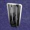 stainless steel toilet brush / built-in
