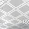 aluminum decorative panel / composite / for false ceilings / for partition walls