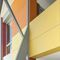 composite decorative panel / for exterior fittings / wall-mounted / colored