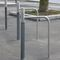 stainless steel bike rack / cast iron / for public spaces