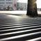 galvanized steel tree grate / square