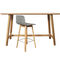 Contemporary high bar table / wooden / solid wood / rectangular MAVERICK by Brigit Hoffmann KFF