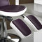 Metal makeup chair / synthetic leather / adjustable / with headrest MEGAN  Medical & Beauty
