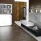 melamine reception desk / PVC / illuminated