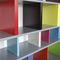 Modular bookcase / contemporary / for professional use / MDF TU-LIS-PIED by Sandrine Reverseau Les Pieds sur la Table ®