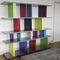 Modular bookcase / contemporary / commercial / MDF TU-LIS-PIED by Sandrine Reverseau Les Pieds sur la Table ®
