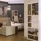 wall bookcase / modular / contemporary / commercial