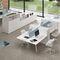 Workstation desk / melamine / contemporary / commercial TAKE OFF Bralco