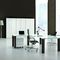 executive desk / wooden / glass / contemporary