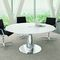 Contemporary boardroom table / wooden / oval METAR Bralco