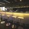 bar counter / wooden / upright / illuminated