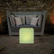 Contemporary side table / composite / cube-shaped / outdoor GRANITE CUBE MOREE