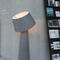 floor-standing lamp / contemporary / felt / LED