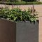 concrete planter / vertical / square / rectangular