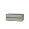 Contemporary chest of drawers / lacquered wood / lacquered MDF / sheet metal COLLAR   Quodes