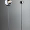 floor-standing lamp / contemporary / steel / orientable