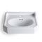 Wall-mounted washbasin / rectangular / ceramic / traditional PROVENCE'700 45cm BLEU PROVENCE