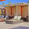 Aluminum gazebo / fabric roof / commercial ST. TROPEZ TUUCI