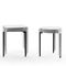 industrial style table / aluminum / HPL / rectangular
