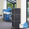 Tall filing cabinet / metal / modular / on casters SAM Viasit GmbH