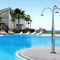 pool garden shower / stainless steel