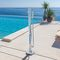 Stainless steel outdoor shower TELEFONO M Inoxstyle