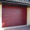 sectional garage door / stainless steel / polyurethane foam / automatic