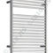 Electric towel radiator / vertical / stainless steel / wall-mounted COOMBE 500 JIS Europe