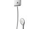 wall-mounted shower set / contemporary / with hand shower / with fixed shower head