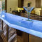 commercial bar cabinet / contemporary / glass / custom