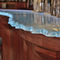 Bar counter / glass / semicircular / illuminated ThinkGlass